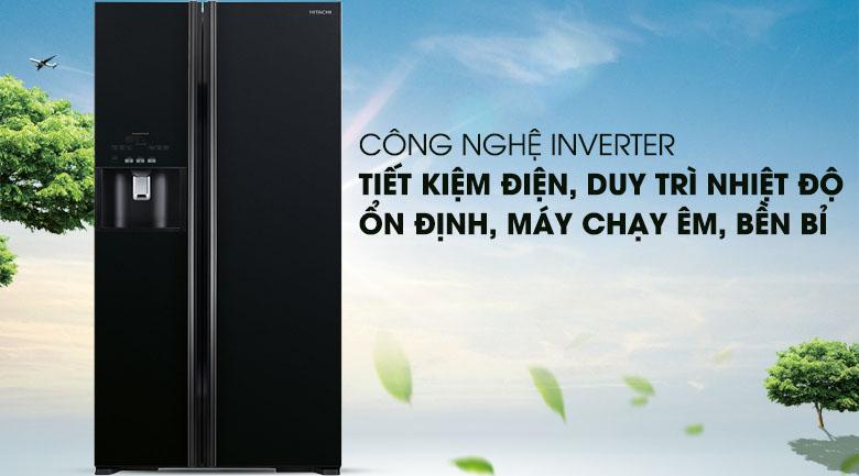 Công nghệ Inverter - Tủ lạnh Hitachi Inverter 589 lít R-S700GPGV2 (GBK)