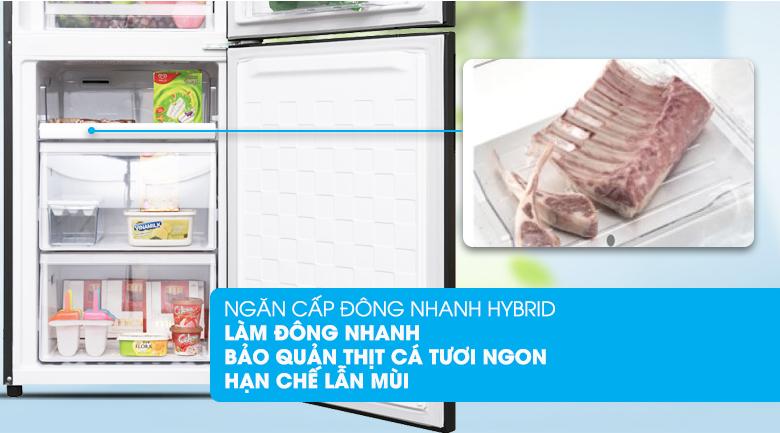 Ngăn làm lạnh nhanh Hybird - Tủ lạnh Hitachi Inverter 330 lít BG410PGV6X (GBK)