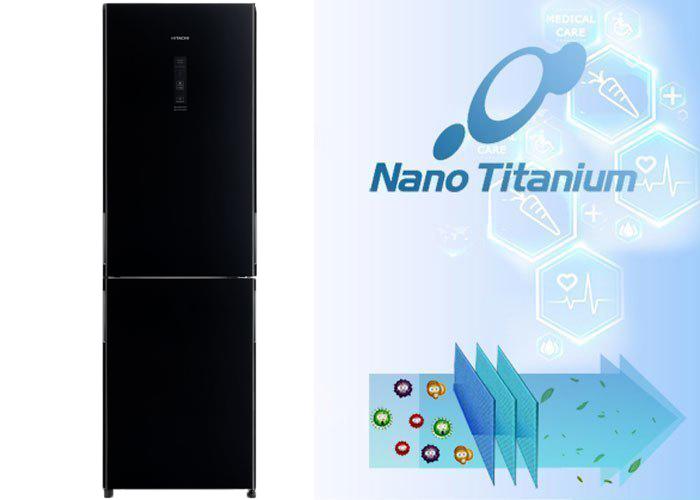 Kháng khuẩn khử mùi hiệu quả với công nghệ Nano Titanium