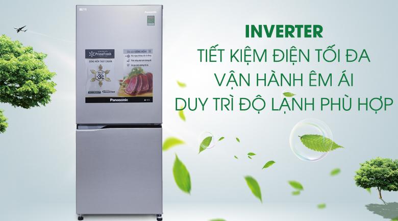 Công nghệ Inverter - Tủ lạnh Panasonic Inverter 255 lít NR-BV289QSVN