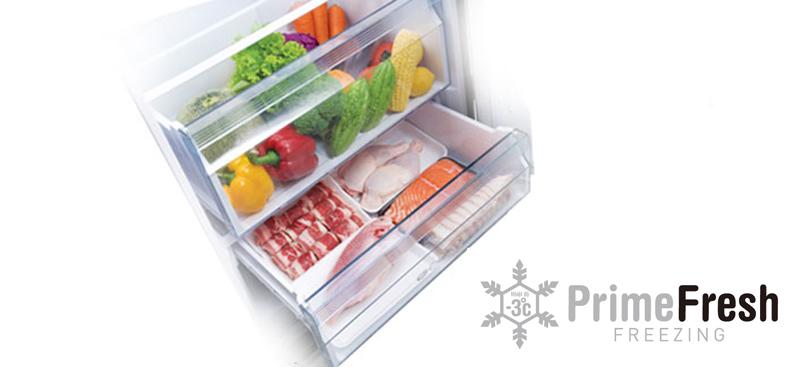 Ngăn Frime Fresh bảo quản thực phẩm không cần rã đông