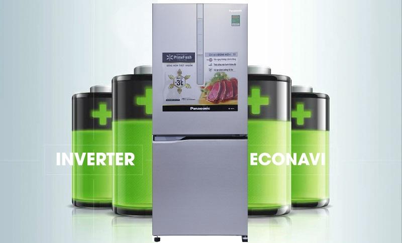 Sự kết hợp giữa công nghệ Inverter và cảm biến Econavi mang đến khả năng tiết kiệm điện tối ưu