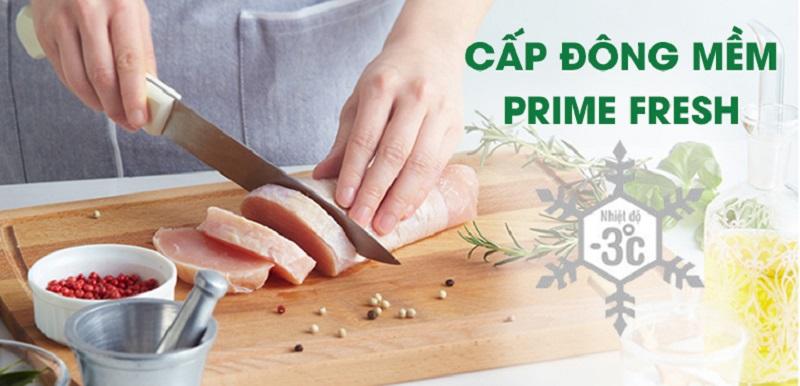 Bảo quản thực phẩm tươi ngon, trọn dưỡng chất với ngăn cấp đông mềm Prime Fresh