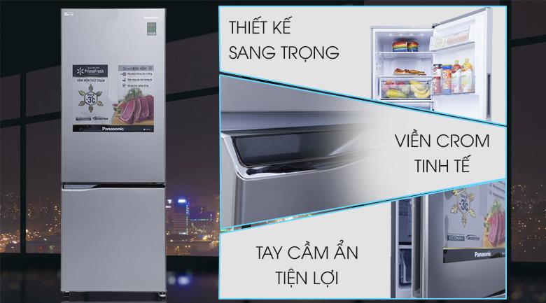 Tủ lạnh Panasonic Inverter 290 lít NR-BV329QSVN