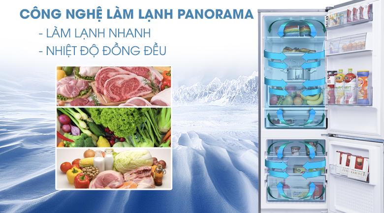 Công nghệ Panorama - Tủ lạnh Panasonic Inverter 290 lít NR-BV329QSVN