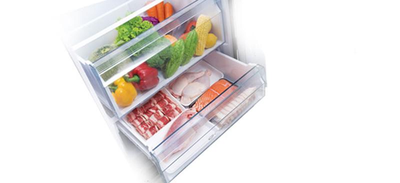 Ngăn Prime Fresh bảo quản thực phẩm không cần rã đông
