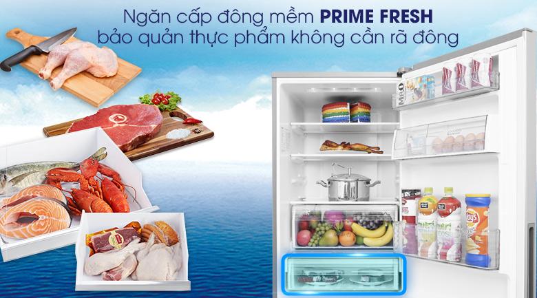 Ngăn cấp đông mềm PrimeFresh - Tủ lạnh Panasonic Inverter 290 lít NR-BV329XSVN