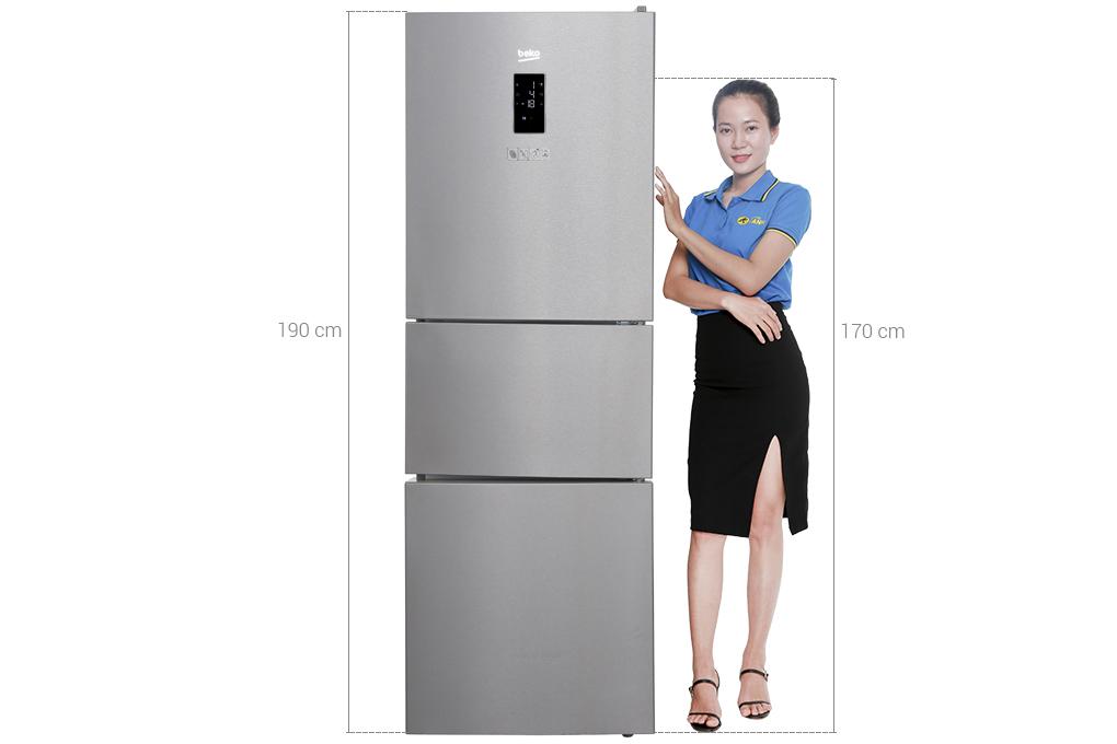 Tủ lạnh 3 ngăn beko