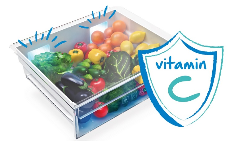 Ánh sáng xanh Active Fresh Blue Light tạo điều kiện sản sinh vitamin cho rau củ