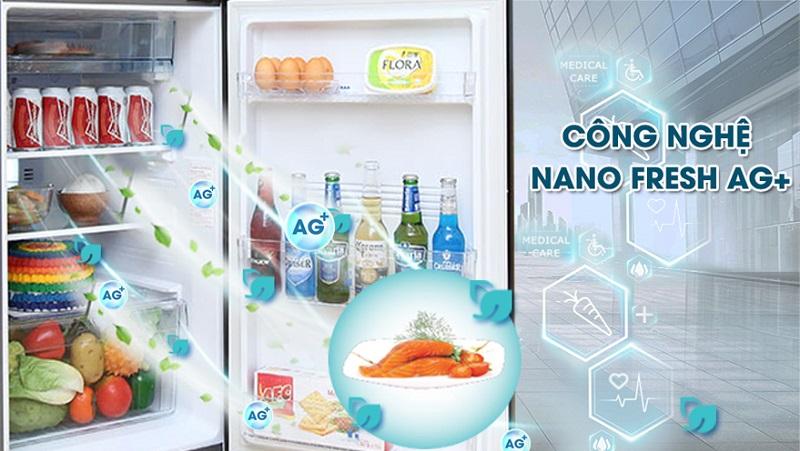 Kháng khuẩn, khử mùi tối đa với công nghệ  Nano Fresh Ag+
