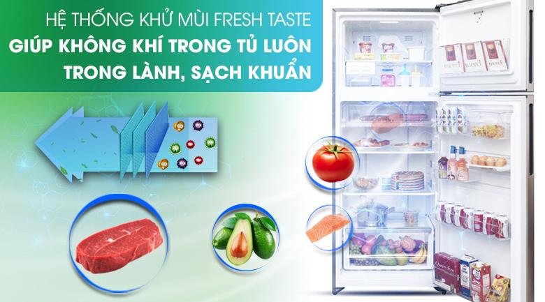 Bộ lọc khử mùi, kháng khuẩn Fresh Taste - Tủ lạnh Electrolux Inverter 426 lít ETB4602GA