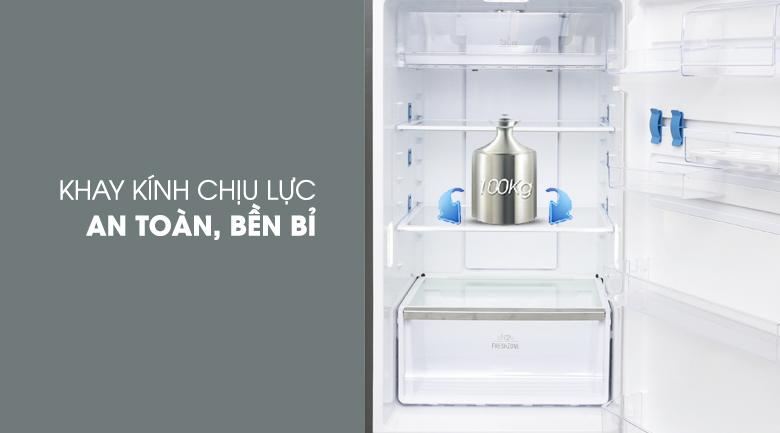 Khay kính chịu lực - Tủ lạnh Electrolux Inverter 426 lít ETB4602GA