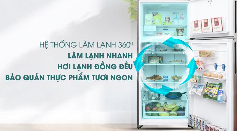 Làm lạnh đa chiều 360 độ - Tủ lạnh Electrolux Inverter 531 lít ETB5702GA