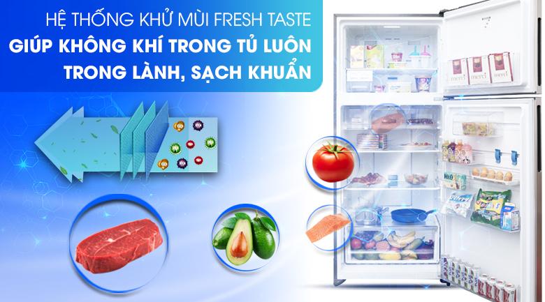 Công nghệ FreshTaste kháng khuẩn khử mùi  - Tủ lạnh Electrolux Inverter 531 lít ETB5702GA
