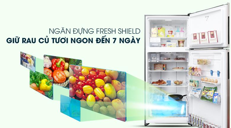 Ngăn đựng rau củ FreshShield - Tủ lạnh Electrolux Inverter 531 lít ETB5702GA