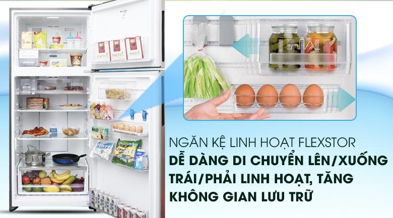 Ngăn kệ FlexStor linh hoạt, tiện lợi - Tủ lạnh Electrolux Inverter 531 lít ETB5702GA