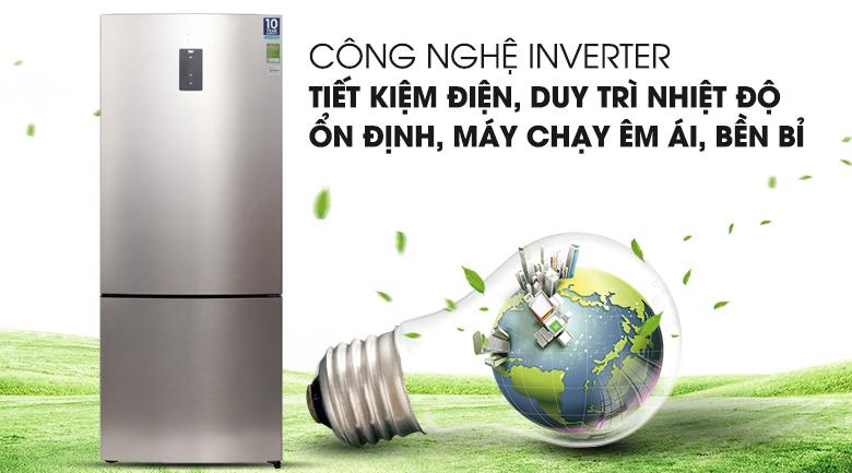 Công nghệ Inverter - Tủ lạnh Electrolux Inverter 418 lít EBE4502GA