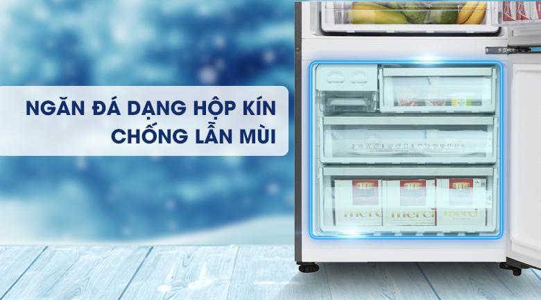 Ngăn đá dạng hộp kín - Tủ lạnh Electrolux Inverter 418 lít EBE4502GA