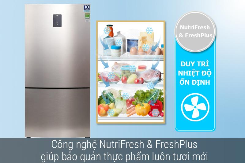 Tủ lạnh Electrolux Inverter 418 lít EBE4502GA - Hệ thống làm lạnh