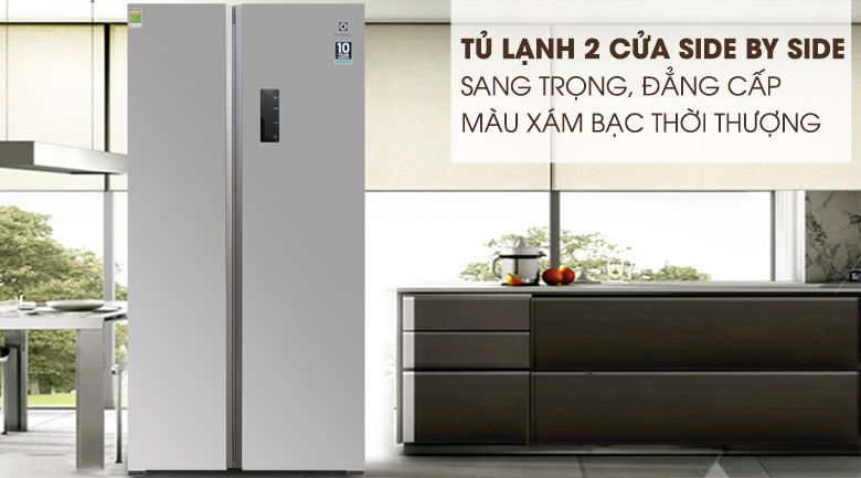 Tủ lạnh Electrolux Inverter 541 lít ESE5301AG-VN