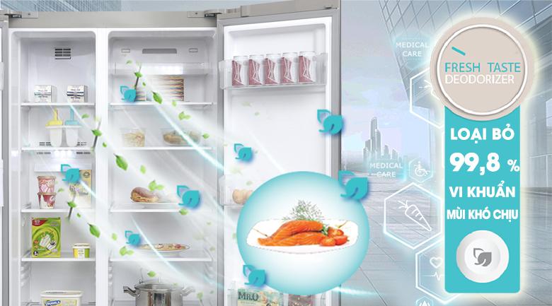 Hệ thống khử mùi Fresh Taste - Tủ lạnh Electrolux Inverter 541 lít ESE5301AG-VN