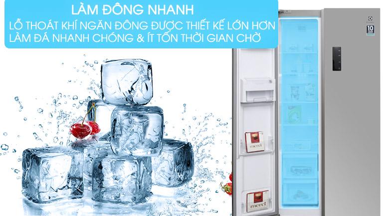 Chức năng làm đá nhanh - Tủ lạnh Electrolux Inverter 541 lít ESE5301AG-VN