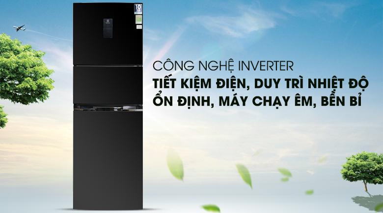 Tủ lạnh Inverter - Tủ lạnh Electrolux Inverter 334 lít EME3500BG