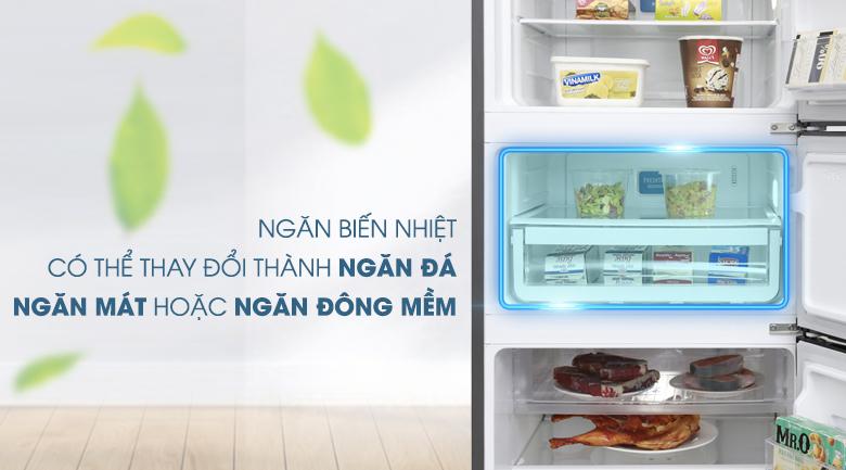 Ngăn biến nhiệt - Tủ lạnh Electrolux Inverter 334 lít EME3500BG