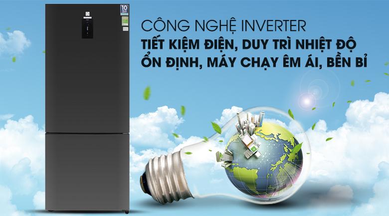 Tiết kiệm chi phí điện đáng kể cho cả gia đình với công nghệ NutriFresh Inverter hiện đại - Tủ lạnh Electrolux Inverter 418 lít EBE4502BA