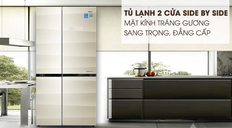 Tủ lạnh Aqua 565 lít AQR-IG585AS SG