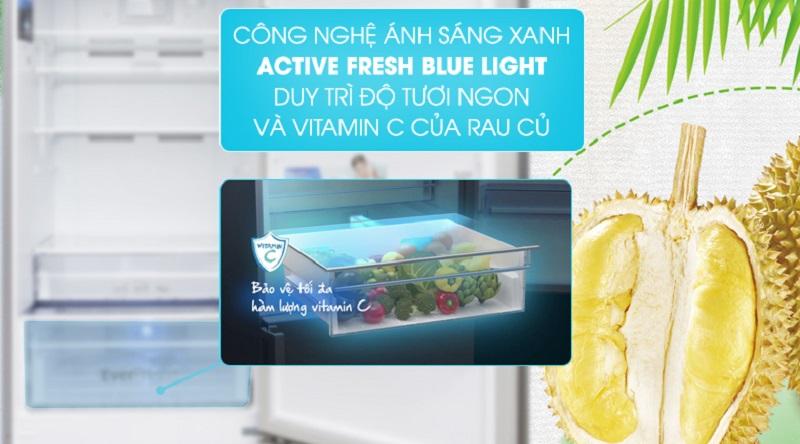 Công nghệ ánh sáng xanh - Tủ lạnh Beko Inverter 375 lít RCNT375E50VZX