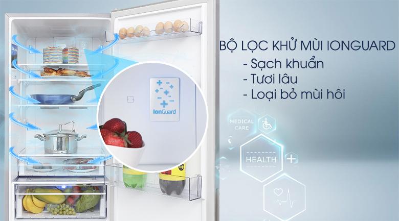 Bộ tạo Ion Guard - Tủ lạnh Beko Inverter 340 lít RCNT340E50VZX