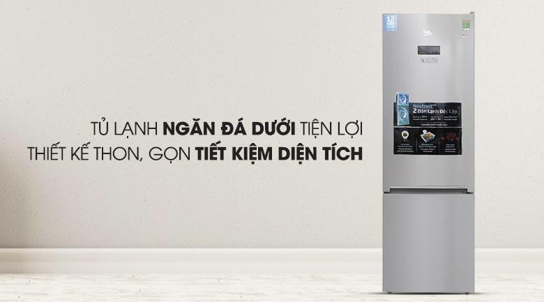 Tủ lạnh Beko RCNT 340E50VZX