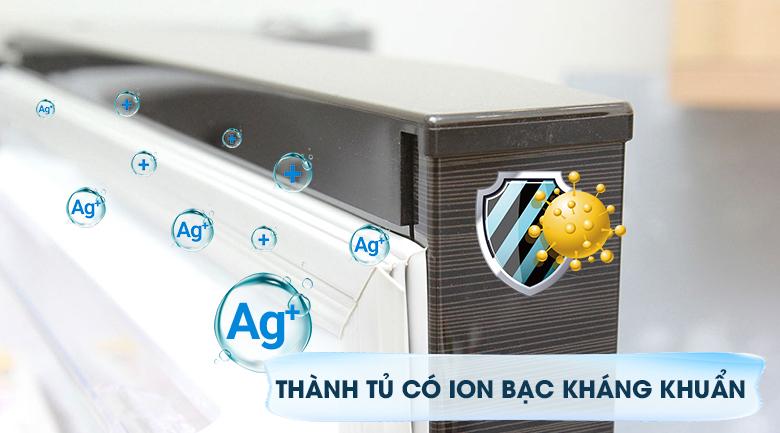 Đệm tủ kháng khuẩn hiệu quả - Tủ lạnh Mitsubishi Electric Inverter 206 lít MR-FV24EM-BR-V