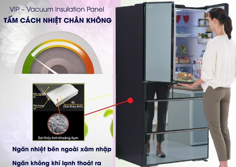 Tấm cách nhiệt chân không VIP – Vacuum Insulation Panel duy trì độ lạnh khi mất điện