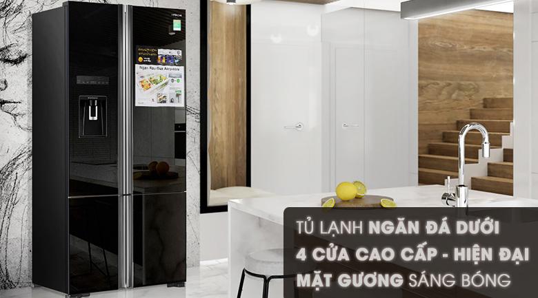 Thiết kế - Tủ lạnh Hitachi Inverter 587 lít R-WB730PGV6X