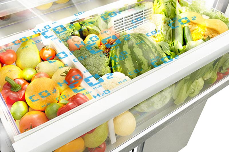Tủ lạnh Hitachi 587 lít R-WB730PGV6X GBK – Công nghệ bảo quản thực phẩm