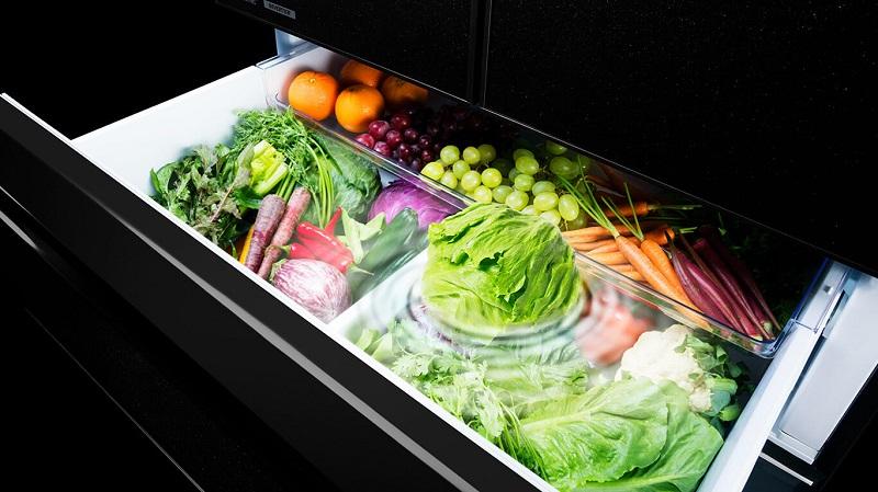Ngăn chứa chuyên biệt tăng cường Vitamin cho rau củ
