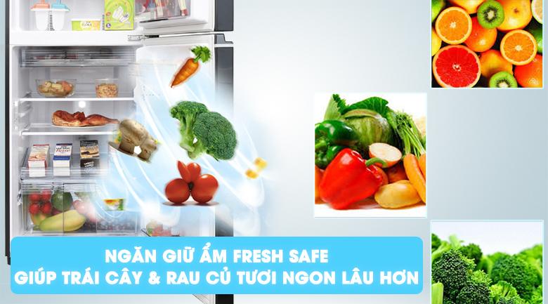 Fresh Safe - Tủ lạnh Panasonic Inverter 234 lít NR-BL268PKVN