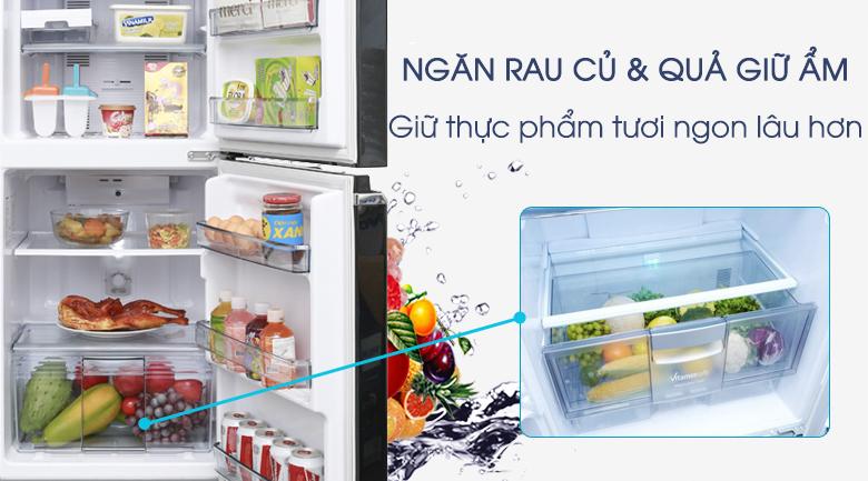 Tủ lạnh Panasonic Inverter 152 lít NR-BA178PKV1 - Ngăn rau củ giữ ẩm