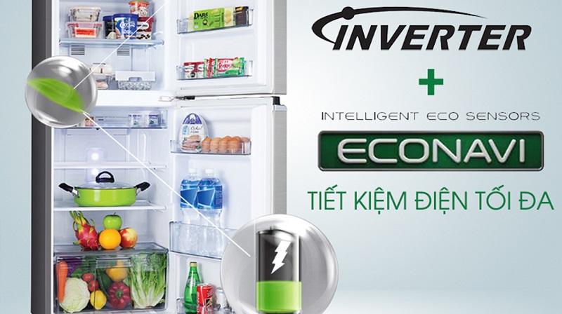 Tủ lạnh có khả năng tiết kiệm điện năng mạnh mẽ cho gia đình