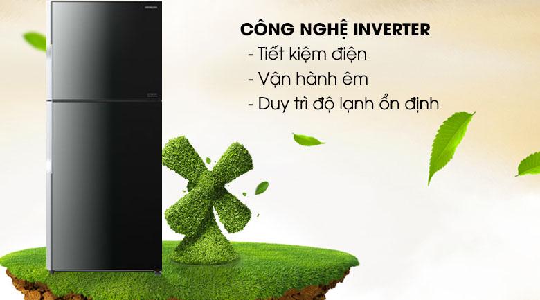 Công nghệ Inverter - Tủ lạnh Hitachi Inverter 395 lít R-VG470PGV3 XGR