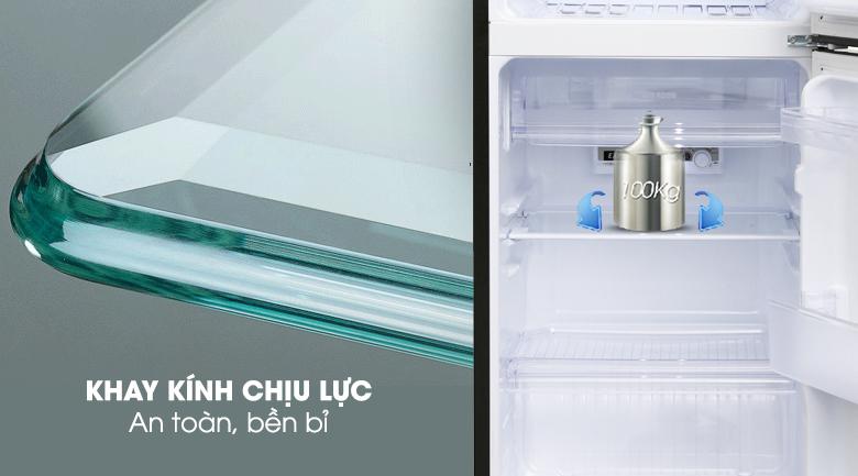 Kệ kính chịu lực - Tủ lạnh Sharp Inverter 165 lít SJ-X176E-SL