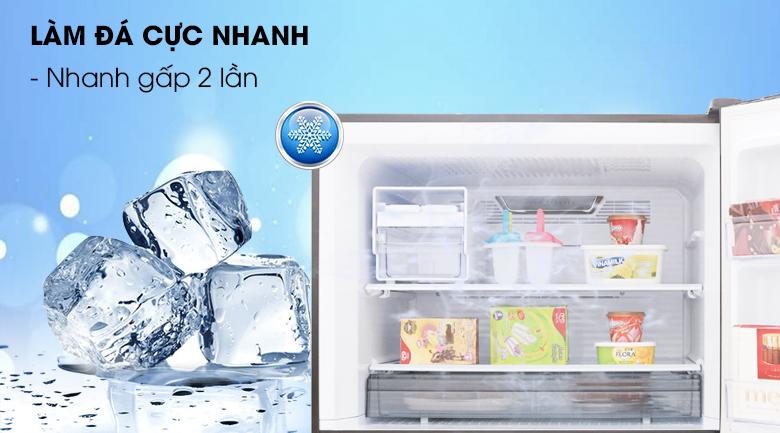 Tủ lạnh Sharp Inverter 150 lít SJ-X176E-SL - Làm đá nhanh