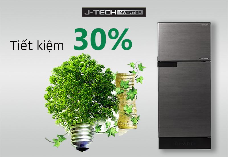 Công nghệ J-Tech Inverter hoạt động êm ái, tiết kiệm điện