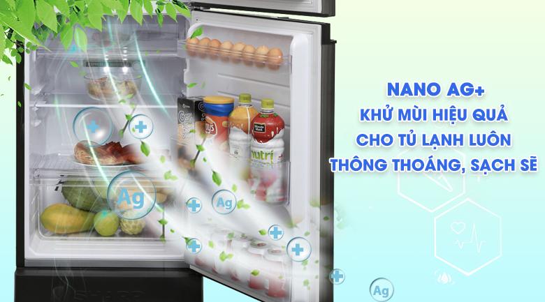 Công nghệ kháng khuẩn khử mùi Ag+ Nano - Tủ lạnh Sharp Inverter 180 lít SJ-X196E-DSS