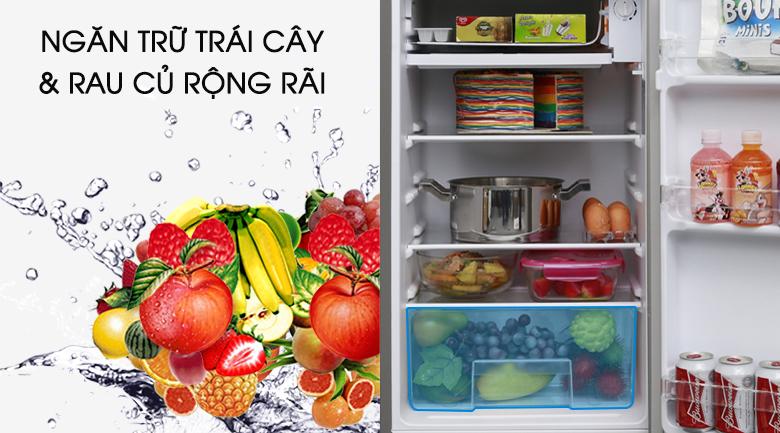 Ngăn trữ rau củ & trái cây - Tủ lạnh Electrolux 92 lít EUM0900SA