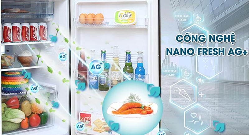 Diệt khuẩn khử mùi tối ưu với công nghệ Nano Ag+