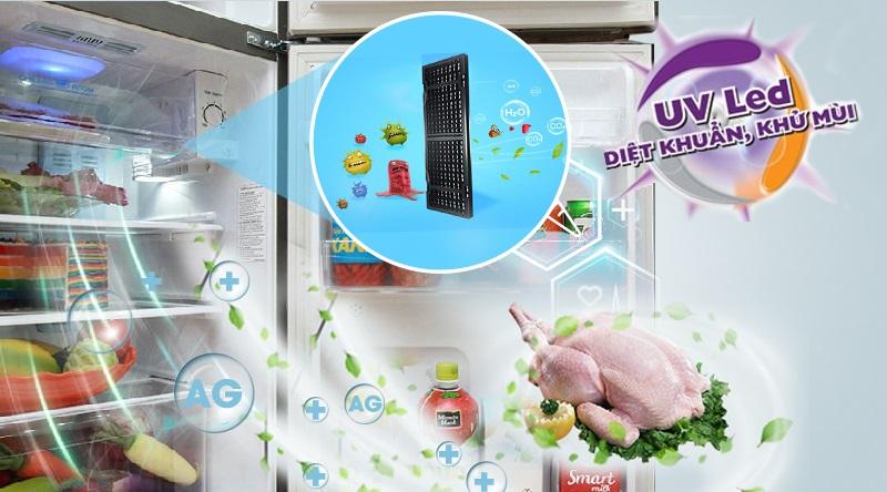 Đèn UV Led kháng khuẩn và khử mùi mạnh mẽ cho tủ lạnh