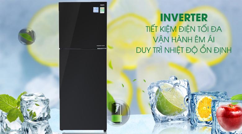Công nghệ Inverter - Tủ lạnh Aqua Inverter 318 lít AQR-IG356DN